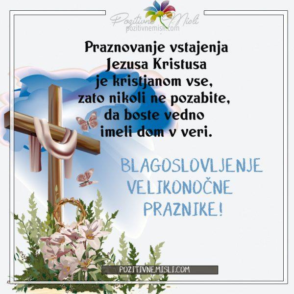 Vstajenje Jezusa Kristusa - velika noč