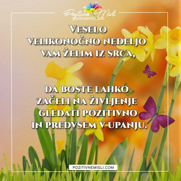 Velikonočna nedelja - Veselo velikonočno nedeljo vam želim