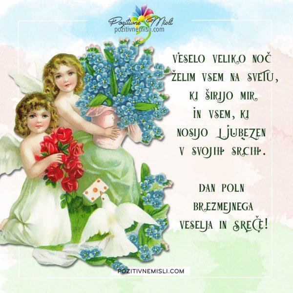 Velika noč - Veselo veliko noč želim vsem na svet