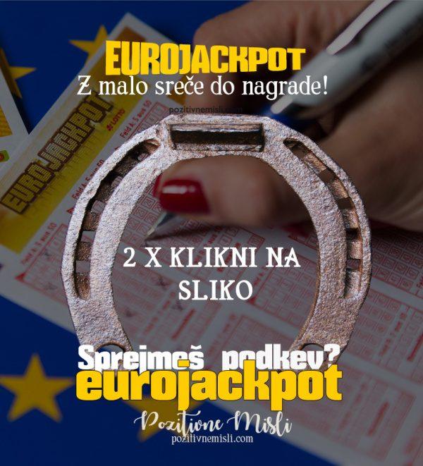 Podkev za srečo - eurojackpot