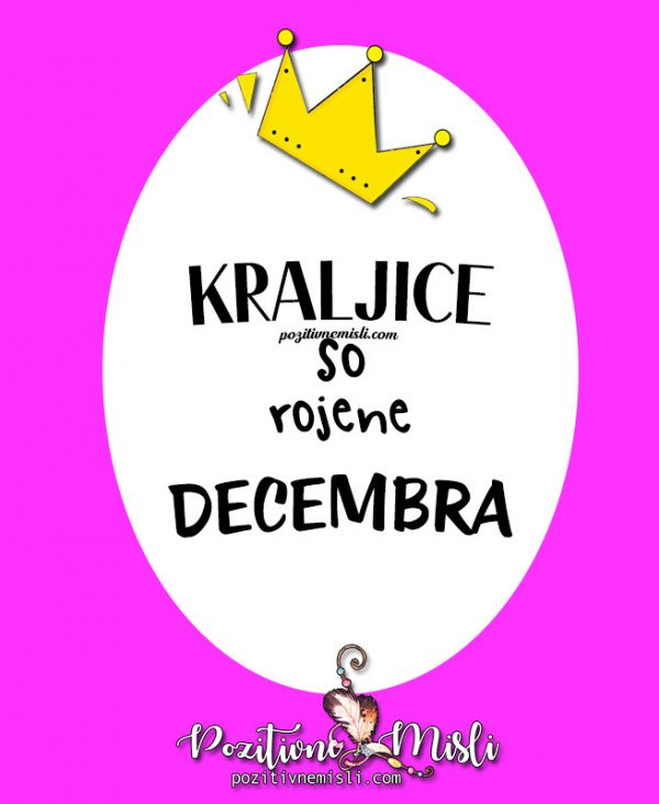 Kraljice so rojene decembra