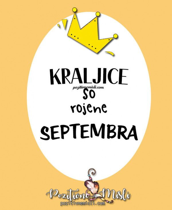Kraljice so rojene septembra