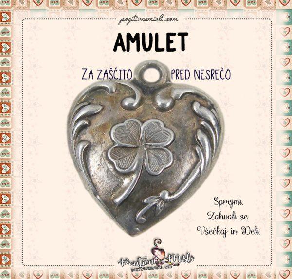 Amulet za zaščito pred nesrečo