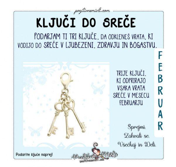 Februar - ključi do sreče