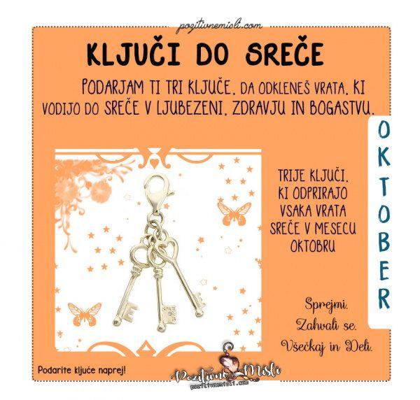 Oktober - kljuci do srece