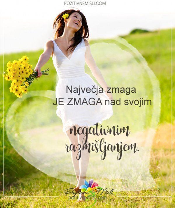 Pozitivne misli - Največja zmaga v življenju