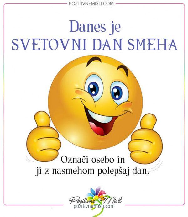 Danes je Svetovni dan smeha  - prva nedelja v maju