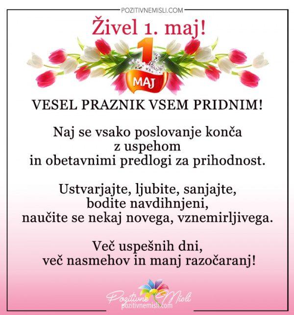 Živel 1. maj  - Vesel praznik vsem pridnim