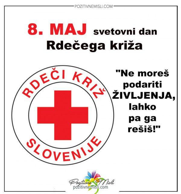 8. maj - svetovni dan Rdečega križa