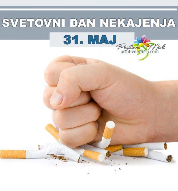 31. maj - Svetovni dan nekajenja