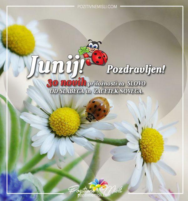 JUNIJ - 30 novih priložnosti za začetek novega