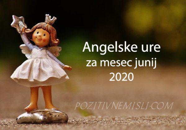 Angelske ure za molitev junija 2020