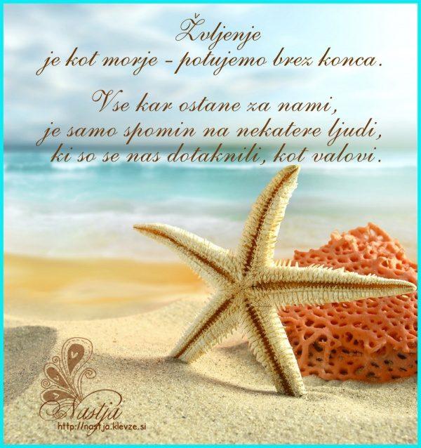 Življenje je kot morje