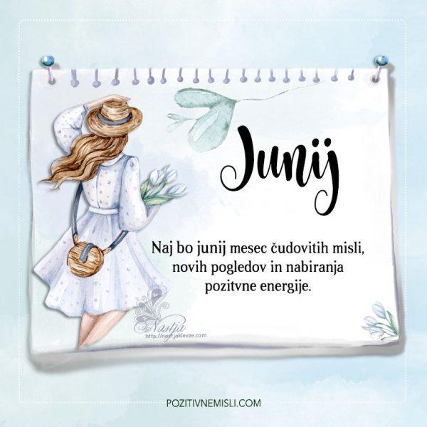 Letni koledar misli  - mesec junij