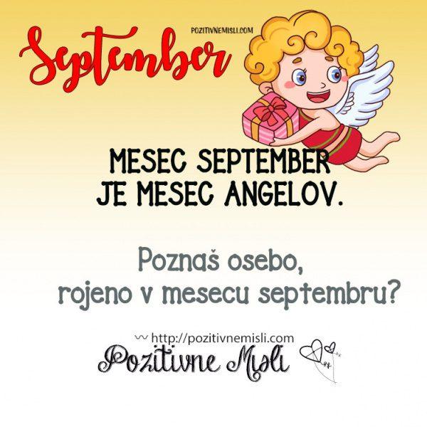 September  je mesec angelov 👼👼