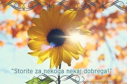 Misli o življenju - Storite nekaj dobrega
