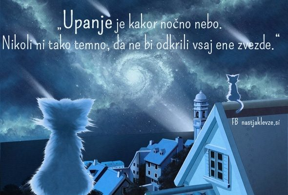 Upanje - Octave Feuillet - lahko noč