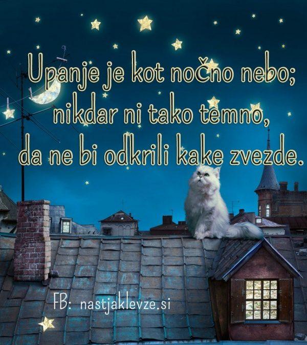 Upanje lahko noč