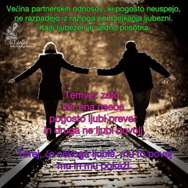 Partnerstvo ljubezen - pozitivne misli 1