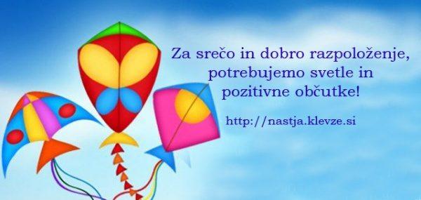 Pozitvne misli - sreča