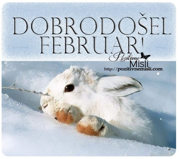 Dobrodošel februar