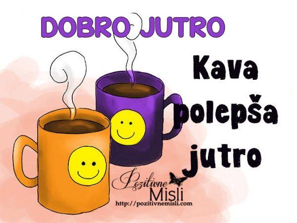 Kava polepša jutro