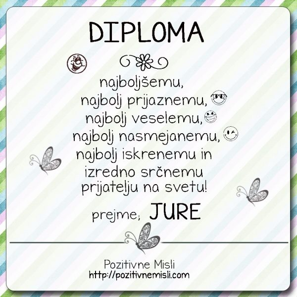 Diploma -Jure