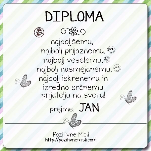 Diploma  - Jan