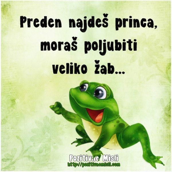Preden najdeš princa ... MISLI O LJUBEZNI