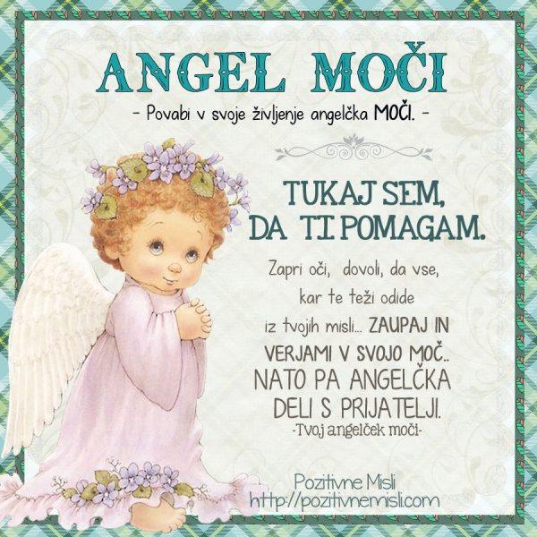 Angel Moči - povabi angela v svoje življenje