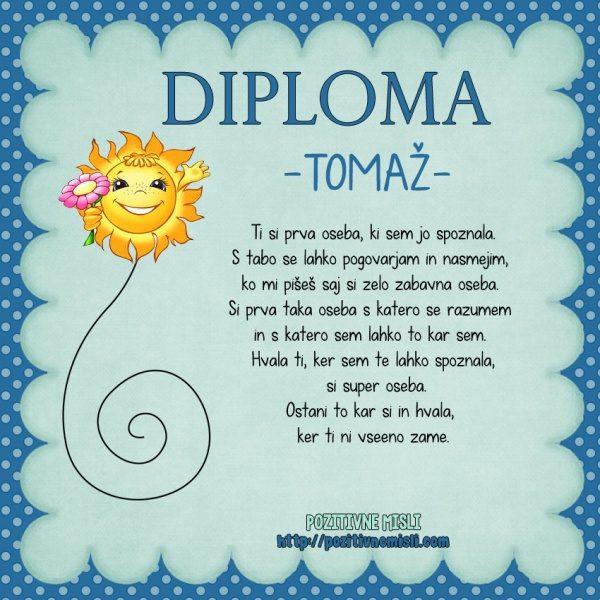 Tomaž - DIPLOMA-