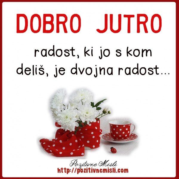 Radost, ki jo s kom deliš, je dvojna radost
