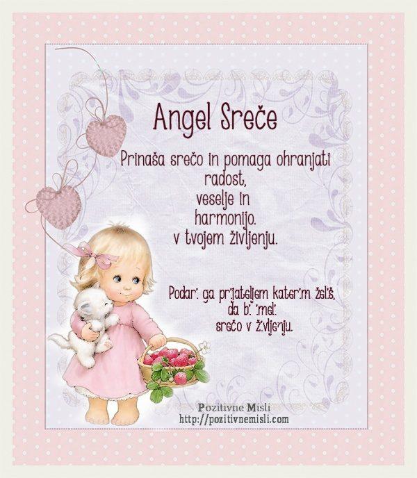 Angel Sreče  - molitev za srečo ❦