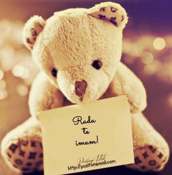 Rada  te imam!