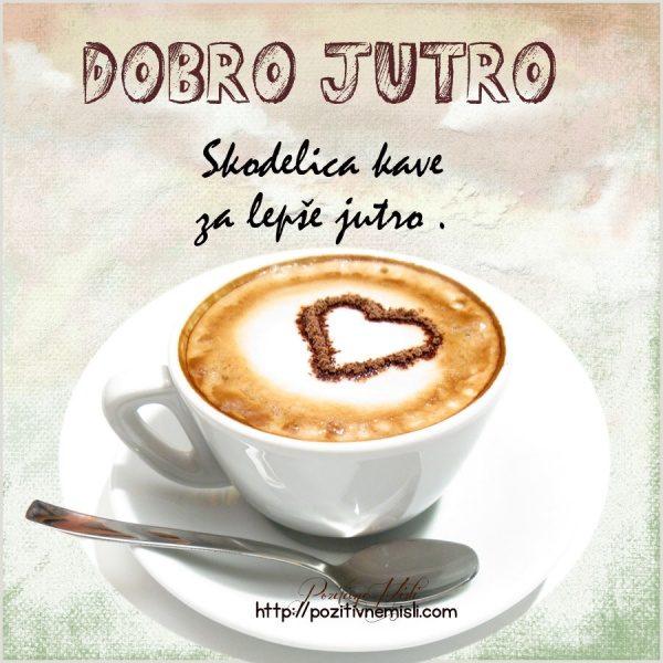 Dobro jutro - skodelica kave