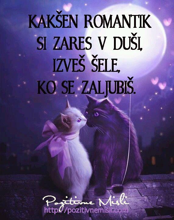 Kakšen romantik si zares v duši,  izveš šele, ko se zaljubiš ...