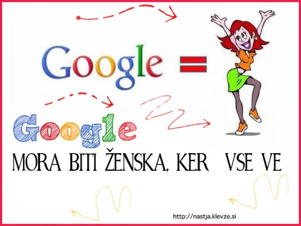 Google - malo zanasmeh