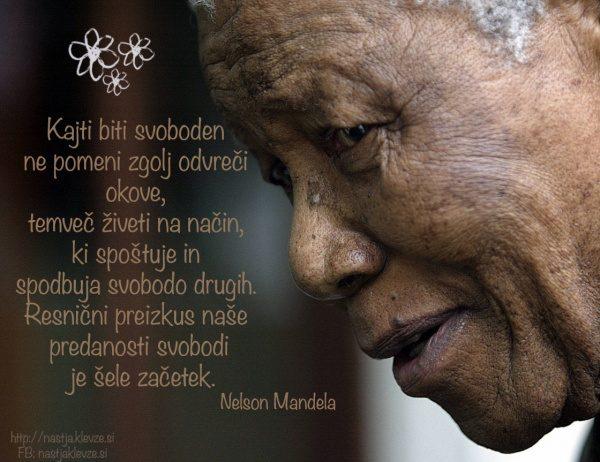 Nelson Mandela - Biti svoboden