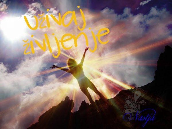 Uživaj življenje - pozitivne misli o dobrem