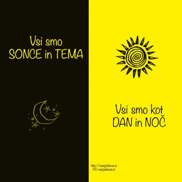 Vsi smo sonce in tema