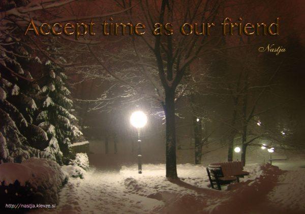 Naj bo čas vaš prijatelj