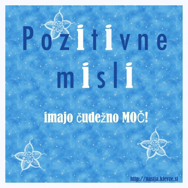 Pozitivne misli