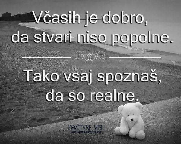 Popolno ali realno življenje