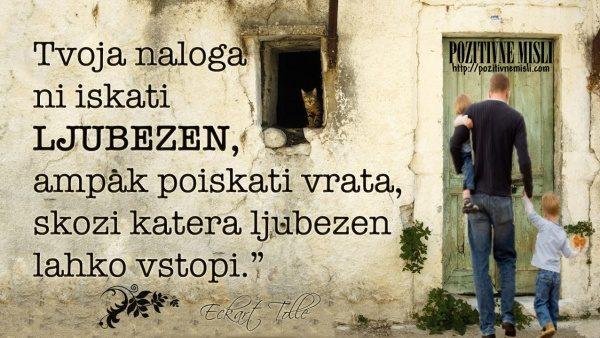 Eckart Tolle -poišči svoja vrata
