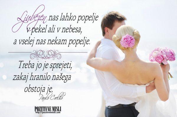 Ljubezen obstoj misli o ljubezen