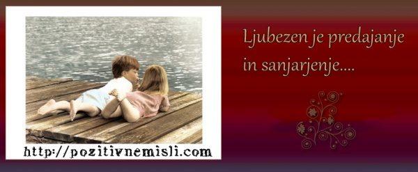 Ljubezen - pozitivne misli - Časovnica