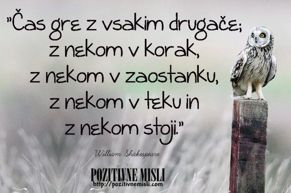 William Shakespeare - čas