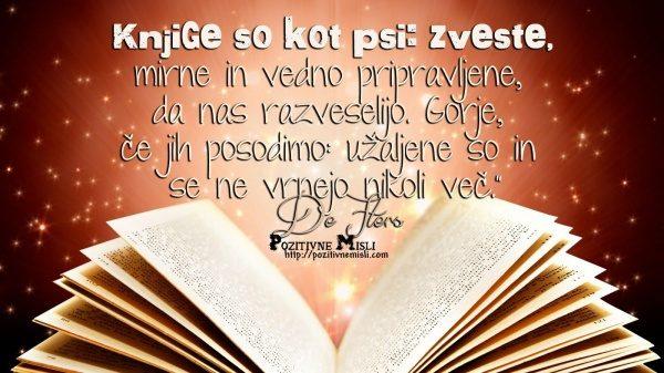 Knjige so zelo zveste