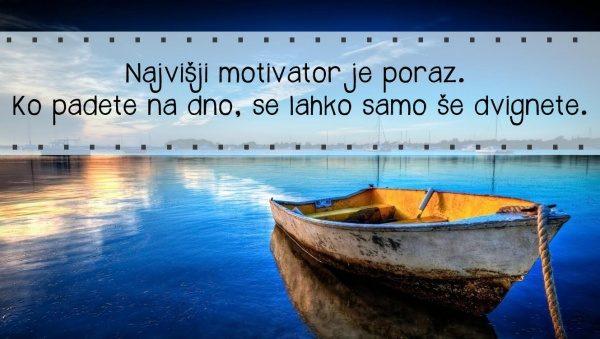 Motivacija - Je lahko poraz motivator?