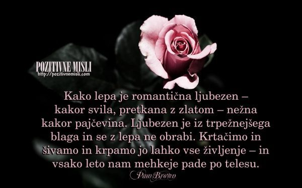 Kako lepa je romantična ljubezen